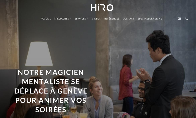 Magicien Genève : Hiro
