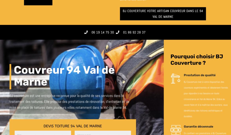 Couvreur 94 val-de-Marne : BJ Couverture